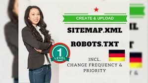 create and upload deled sitemap xml