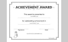 templates for certificates of completion microsoft certificate templates achievement