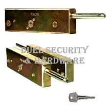 enfield pacri style garage door bolts pair
