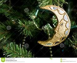 Royalty-Free Stock Photo. Download Shiny Moon Christmas Ornament ...