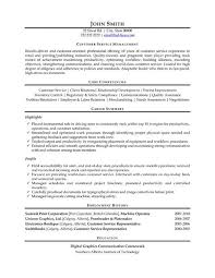 Resume Customer Support Manager Resume Example