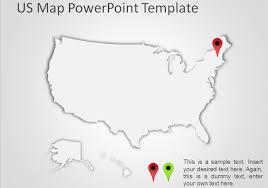 Usa Map For Powerpoint Best Editable Usa Map Designs For Microsoft Powerpoint