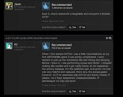 dota 2 as told by steam reviews kotaku australia