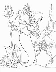 Small Picture Ariel The Little Mermaid Coloring Pages Coloring Pages