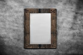 blank canvas in old wooden frames free stock photo public domain
