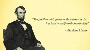 Quotes By Abraham Lincoln Beauteous The Problem With Quotes Abraham Lincoln [48x48] Imgur