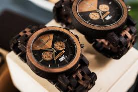plantwear wood watches close up dial