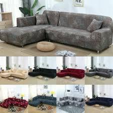 2pcs stretch sofa cover for l shape