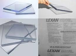 lexan sheet 1 4 makrolon ar2 mr10 lexan clear polycarbonate sheet 30 x 48 x 1 4