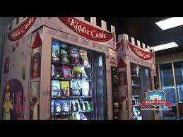 Diaper Vending Machine Interesting Kiddie Castle Vending Machine Sells Diapers Toys And Helathy Snacks