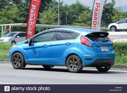 CHIANGMAI, THAILAND - OCTOBER 6 2016: Private car, Ford Fiesta ...