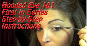 hooded eye tutorial how to apply eye makeup on a fully hooded or droopy eyelid you