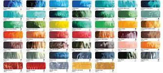 Matisse Colour Chart Matisse Structure 500ml Pots