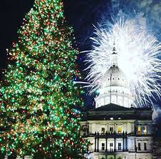 Lighting Of The Official State Christmas Tree Approximately 7:45 pm