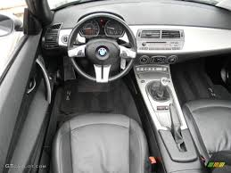 Coupe Series 2004 bmw roadster : 2004 BMW Z4 3.0i Roadster Black Dashboard Photo #59843280 ...