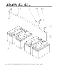Diagram of battery wiring ponents
