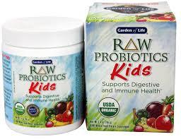 raw probiotics kids 3 4 oz by garden of life