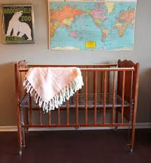 furniture vintage antique brown stained wooden ba nursery with vintage baby cribs