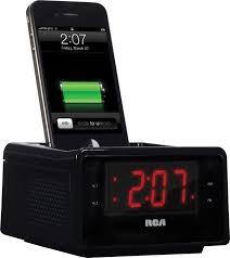 Rca RC127I High Quality Radio with Alarm Clock and iPhone Dock: Amazon.ca:  Electronics