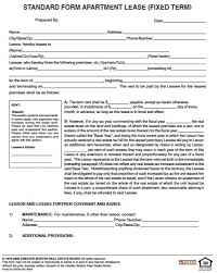 Lease Agreement Form Pdf Enchanting Free Residential Lease Agreement Template Pa Mesotraining