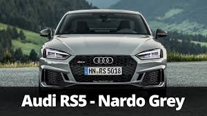 2018 audi grey. contemporary audi 2018 audi rs5 in nardo grey  driving  exterior interior in audi grey p