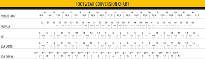 italian shoe size conversion