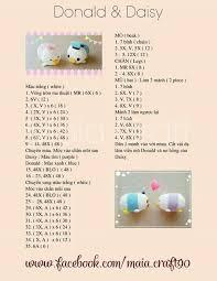 Tsum Tsum Donald Daisy Crochet Patterns Crochet Patterns