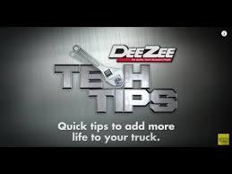 Dee Zee Tech Tips Custom Pickup Truck Bed Mat & Tailgate Mat ...
