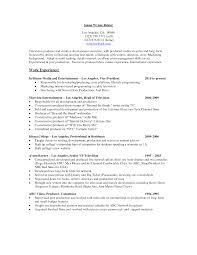 video producer resume  resume examples executive producer    video producer resume