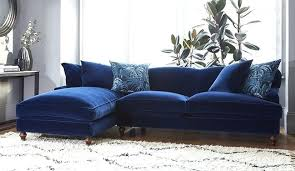 dark blue couch. Navy Blue Sofa Dark Velvet Couch Incredible Midnight Rose And Grey For My Dream