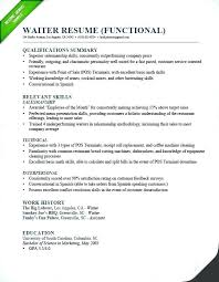 Resume Job History Order Best Of Banquet Server Job Description For Resume Head Waiter Job