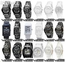 mens womens ceramic watch ar1410 ar1411 watches for
