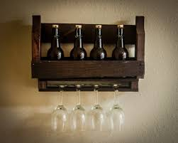 pallet wall wine rack. Amazing Uses Of Wooden Pallet Wall Shelves Photo Popular Items For Wine Rack On Etsy
