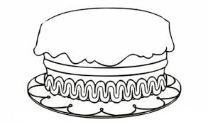 Small Picture Birthday Cake Coloring Pages Printable Miakenasnet