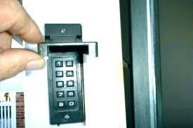 garage door opener keypad. Changing Garage Code How To Reset Craftsman Door Opener On Keypad Program Ope