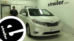 Inno Roof Rack Review - 2016 Toyota Sienna - etrailer.com - YouTube