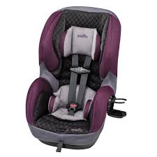 evenflo sureride dlx convertible car seat sugar plum