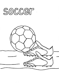Small Picture A Complete Soccer Gear for the Game Coloring Page Download