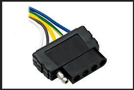 trailer wiring pin 5 white wire ground