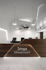 black color furniture office counter design. contemporary counter office tour singa infrastructure offices u2013 mumbai workspace designoffice  interior designsreception counterreception deskslobby  and black color furniture counter design d