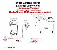 wrg 0325] rib relay wiring diagram Car Air Horn Wiring Diagram Simple 12V Horn Wiring Diagram
