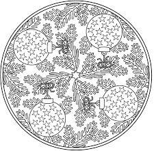 Small Picture Christmas Mandala Coloring Page Christmas Morning Coloring