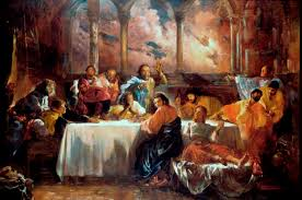 holy thursday the mass of the lord s supper