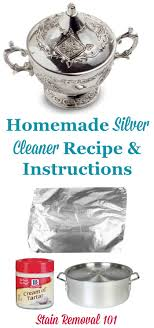 homemade silver cleaner recipe that uses the power of a homemade magnet to make your