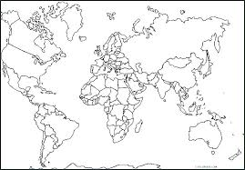 World Map Printable Color I1987 Countries Of The World Coloring