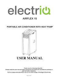 electriq airflex 15 user manual manualzz