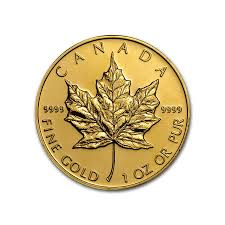 Buy Canadian Gold Maple Leaf Coin Online Maple Leaf Gold Coins