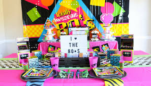 awesome 80s party ideas