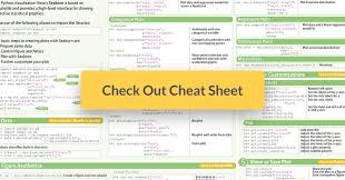 python regex cheat sheet python seaborn cheat sheet for statistical data visualization