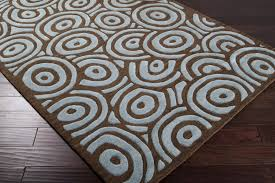 impressive brown and blue at rug studio with regard to regarding area ideas 19